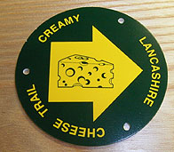 Whey Marker Lancashire Cheese Trail
